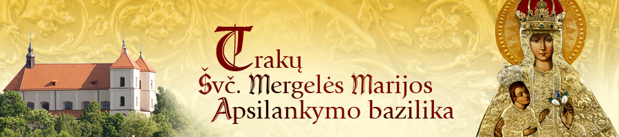 Trakų Švč. M. Marijos Apsilankymo bažnyčia Логотип