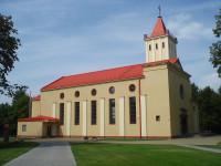 Naujosios Vilnios Švč. Mergelės Marijos Taikos Karalienės bažnyčia Логотип