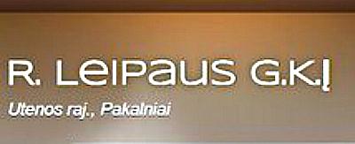 R. Leipaus gamybinė komercinė įmonė Logotipas